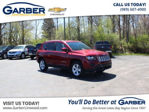 Pre-Owned 2017 Jeep Compass Latitude Four Wheel Drive SUV