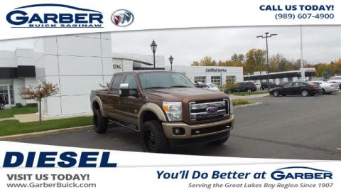 Pre-Owned 2011 Ford F-350 Lariat 4WD