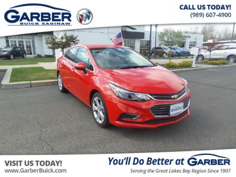 Pre-Owned 2016 Chevrolet Cruze Premier Auto FWD Sedan