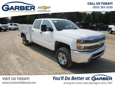 New 2018 Chevrolet Silverado 2500HD WT