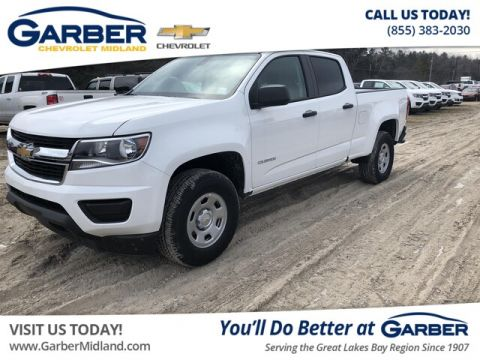 New 2018 Chevrolet Colorado WT RWD Truck