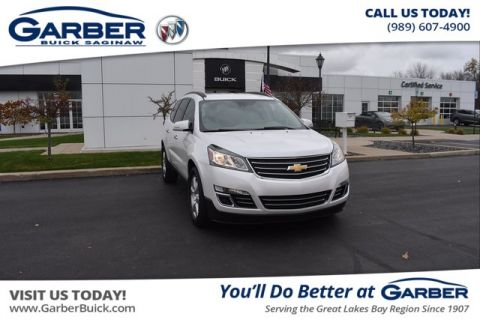 Pre-Owned 2016 Chevrolet Traverse LTZ AWD