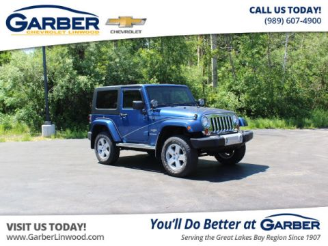 Pre-Owned 2010 Jeep Wrangler Sahara 4WD