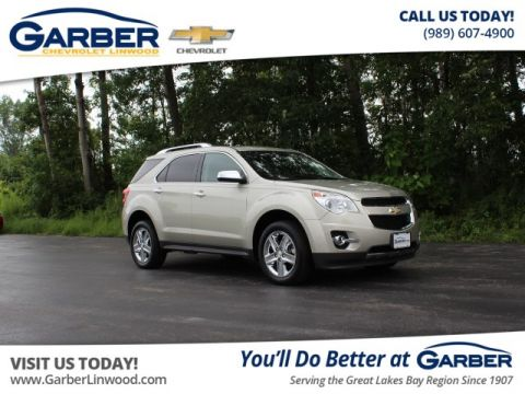 Certified Pre-Owned 2014 Chevrolet Equinox LTZ AWD