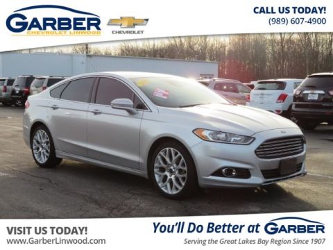 Pre-Owned 2014 Ford Fusion Titanium AWD