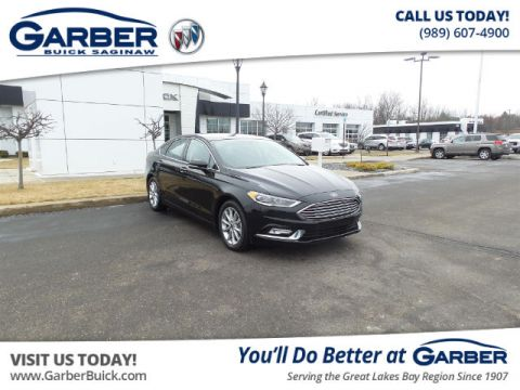 Pre-Owned 2017 Ford Fusion SE FWD Sedan