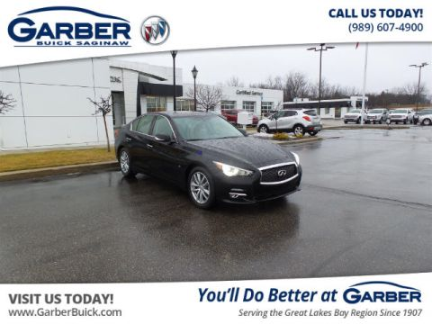 Pre-Owned 2015 INFINITI Q50 Premium RWD Sedan