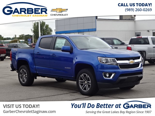 New 2019 Chevrolet Colorado Lt Truck In Linwood K1100925 Garber