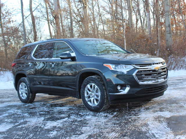 Chevy Suv Models >> New 2018 Chevrolet Traverse LT Cloth w/1LT SUV in Linwood #JJ126044 | Garber Chevrolet Linwood