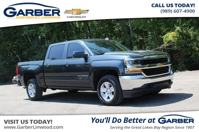 Pre Owned 2017 Chevrolet Silverado 1500 Lt Truck In Linwood