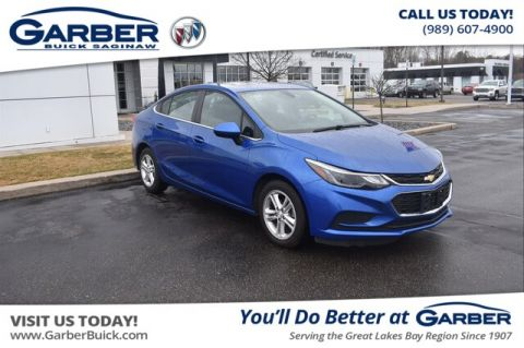 Pre-Owned 2018 Chevrolet Cruze LT Auto FWD Sedan
