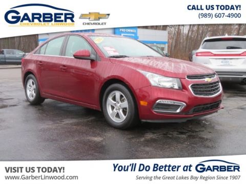 Pre Owned 2016 Chevrolet Cruze Limited Lt Fwd Sedan