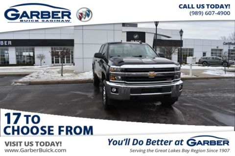 Pre-Owned 2018 Chevrolet Silverado 2500HD LT With Navigation & 4WD