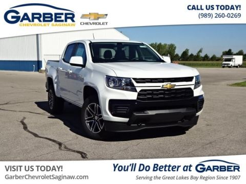 New 2021 Chevrolet Colorado Work Truck 4WD