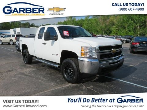 Pre-Owned 2007 Chevrolet Silverado 2500HD Work Truck 4WD