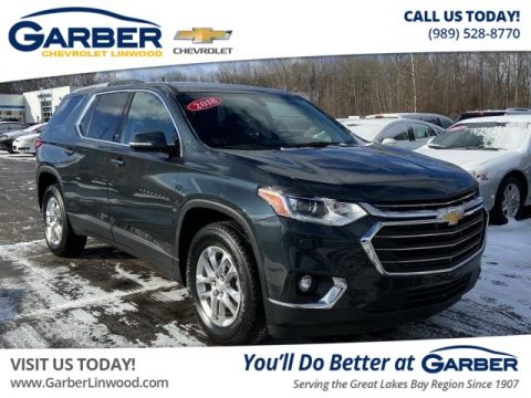 Pre-Owned 2018 Chevrolet Traverse LT Cloth w/1LT AWD