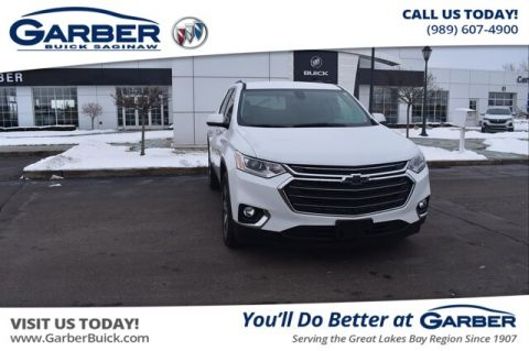 Pre-Owned 2018 Chevrolet Traverse LT Leather With Navigation & AWD