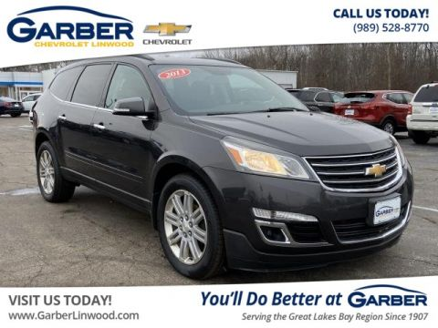 Pre-Owned 2013 Chevrolet Traverse LT AWD