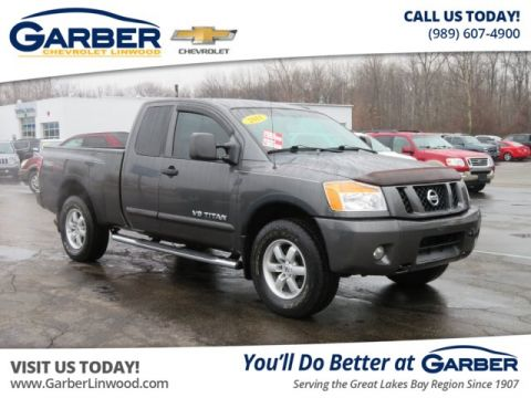 Pre-Owned 2011 Nissan Titan PRO-4X 4WD