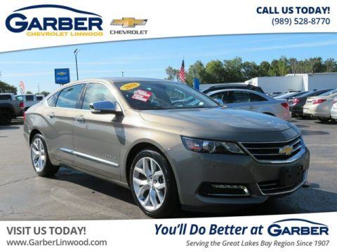 Pre-Owned 2018 Chevrolet Impala Premier w/2LZ With Navigation