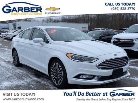 Pre-Owned 2018 Ford Fusion AWD
