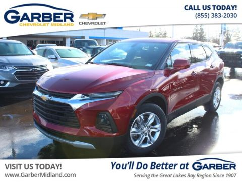New 2019 Chevrolet Blazer w/1LT