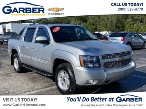 Pre-Owned 2012 Chevrolet Avalanche 1500 LT 4WD