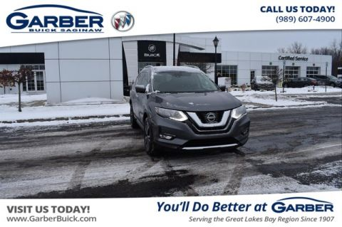 Pre-Owned 2018 Nissan Rogue SL With Navigation & AWD